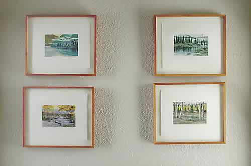 Art at Seattle bed and breakfast, The Gaslight Inn | Four Prints
